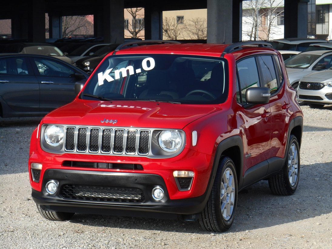 Jeep Renegade 1000 T3 Turbo 120CV Limited MY'19